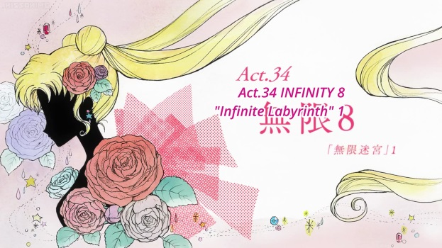 Sailor Moon Crystal Act 34: Infinity 8, Infinite Labyrinth 1