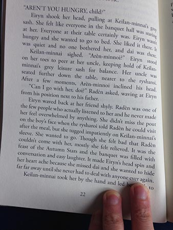 A Promise Broken: Page 22 of the first proof
