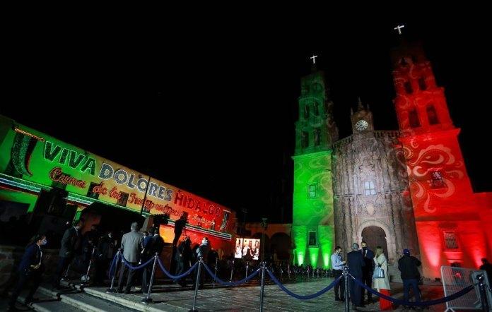 Grito de Independencia, Guanajuato