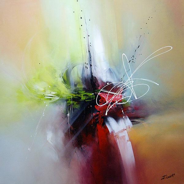 Divination peintre Elisabeth Roche Alazet