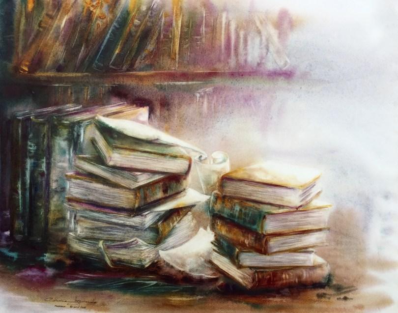 Bibliothèque de Fabriano - 62x52 © Corinne Izquierdo