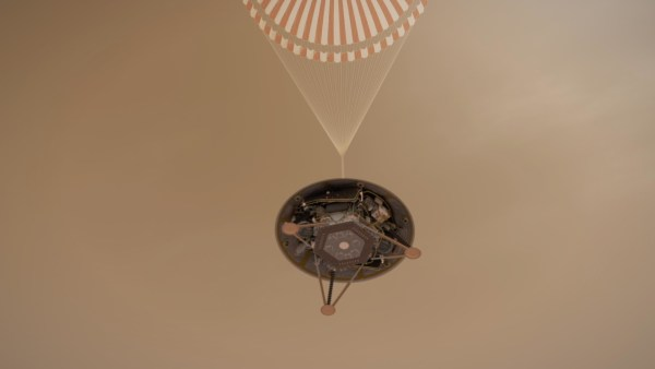 InSight Mars Lander: Parachute Image?
