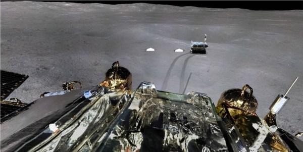 China's Farside Moon Lander – Scenic Panorama! (Updated ...