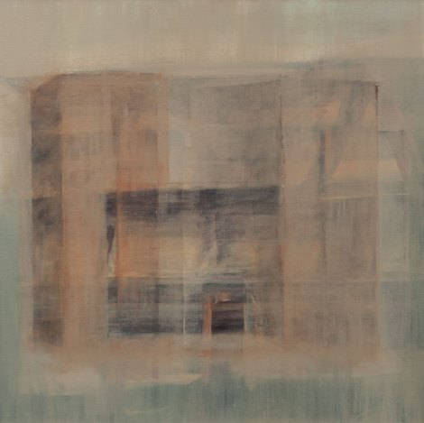Huile sur toile 70 × 70 cm