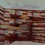 Huile sur toile 90 × 90 cm