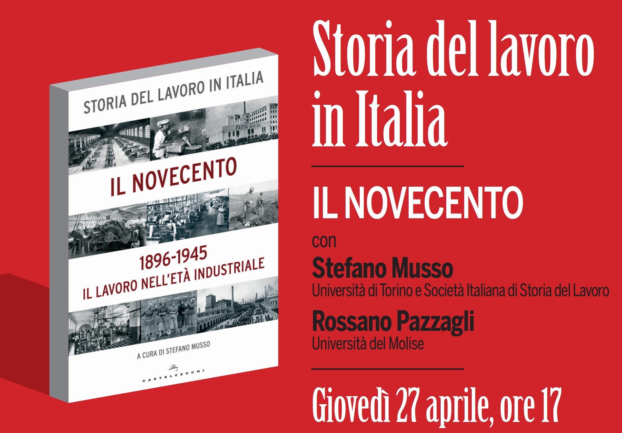 Il 27 aprile al MAGMA: incontro con Stefano Musso e Rossano Pazzagli.