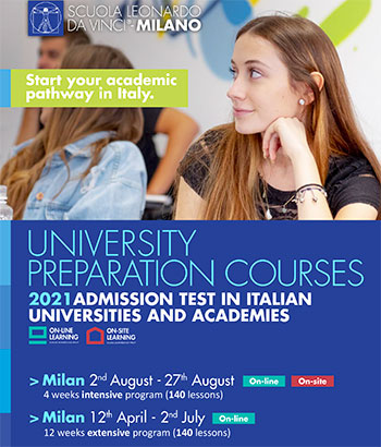 Our weekly newsletter to stay updated on everything that's happening in design. Preparatory Course For Studying At Milan Politecnico