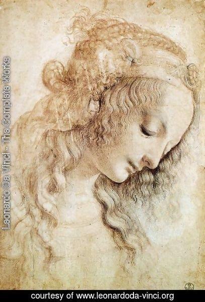 Leonardo Da Vinci The Complete Works Head of a Woman 2