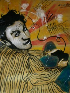 Leonardo Spina, PlugAndPlay, 2009 Acrilyc on paper, 70 x 100 cm