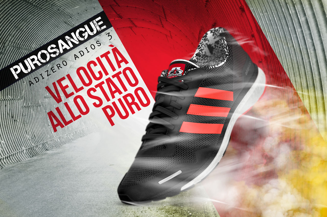 Leonardo Spina - Adidas - Adizero - Purosangue