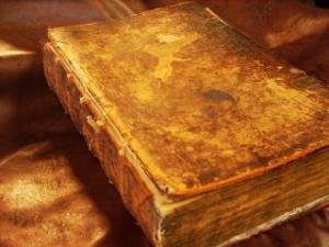 1730's German Commentary before restoration