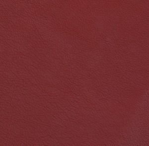Dark Red Pebble Grain Cowhide