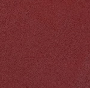 Dark Red Pebble Grain Cowhide