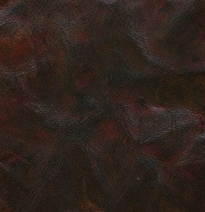 Spindled rustic goatskin, hand-dyed and antiqued to a medium brown finish