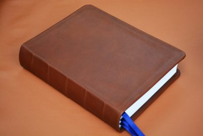 Smooth Brown Calfskin Bible