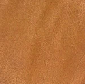 Lighter tobacco soft-tanned goatskin