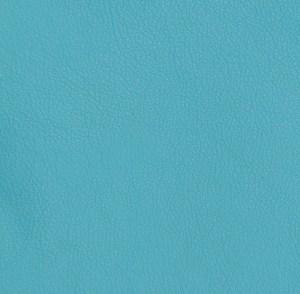 Turquoise Pebble Grain Cowhide