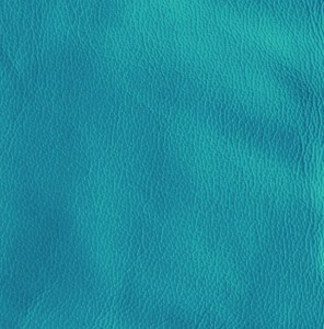 Turquoise soft-tanned goatskin