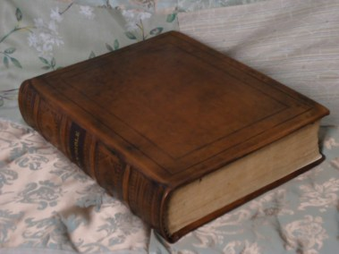 Custom Family Bible in Calf