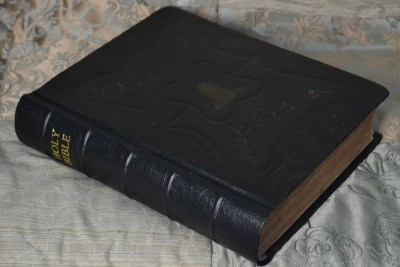 Cloth Family Bible with Imitation Leather Spine