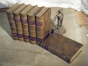 Antique multi-volume history set