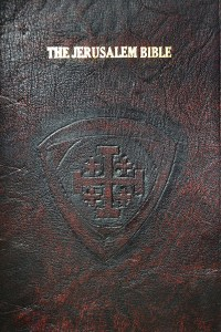 Hand-dyed Spindled Rustic Goatskin with a Jerusalem Cross in a shield shape