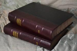 Encyclopedias in Half Leather