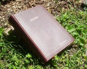"Hand-Dyed Kangaroo -- The ""Outback Bible."""