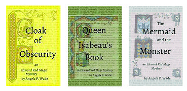 An image of three books by Angela P Wade