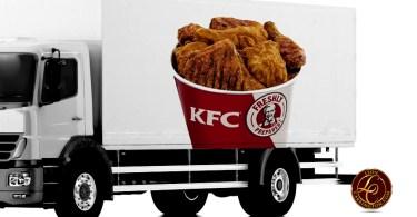 KFC Delivering Buckets of Chicken in U.S.
