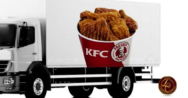 KFC Delivering Buckets of Chicken in U.S.