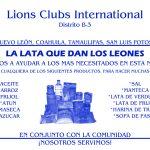 """Campaña Distrital: """"La Lata que dan los Leones"""""""