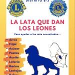 """Nuevo volante campaña: """"La Lata que dan los Leones"""""""