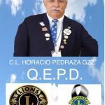Gracias por ser LEON / Descansa en Paz / Presidente Consejo de Gobernadores