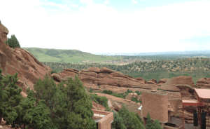 Expansive views that surely raise the mind to God! This is taken from our picnic site at Red Rock.