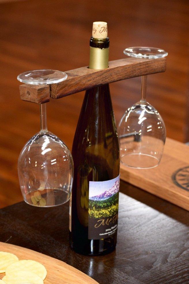 Wine Bottle & Wine Glass Holder