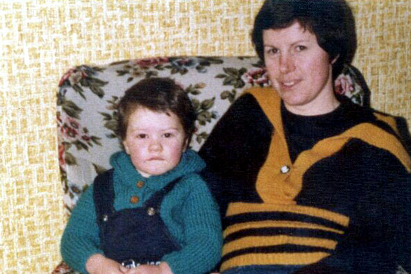 One of only about 2 photos of me as a baby in our house in Crumlin..