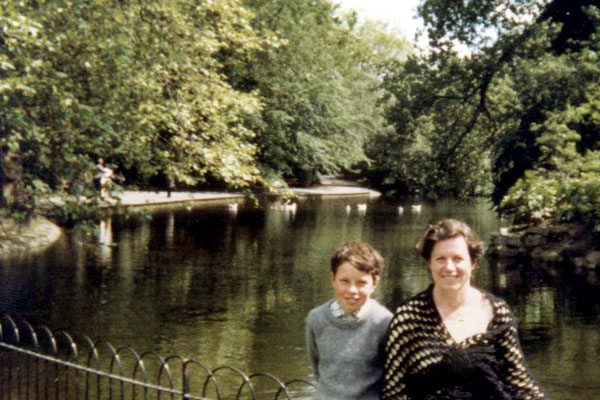 In St Stephen's Green..