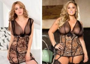 sexy leopard print lingerie