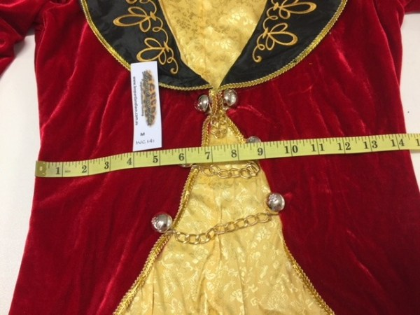 Ringmistress Circus Showgirl Burlesque Tailcoat Jacket