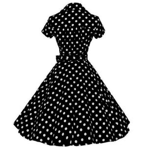 Dress polka dot rockabilly retro