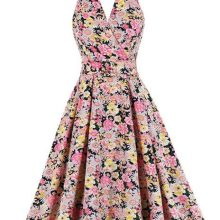 Dress rockabilly retro floral