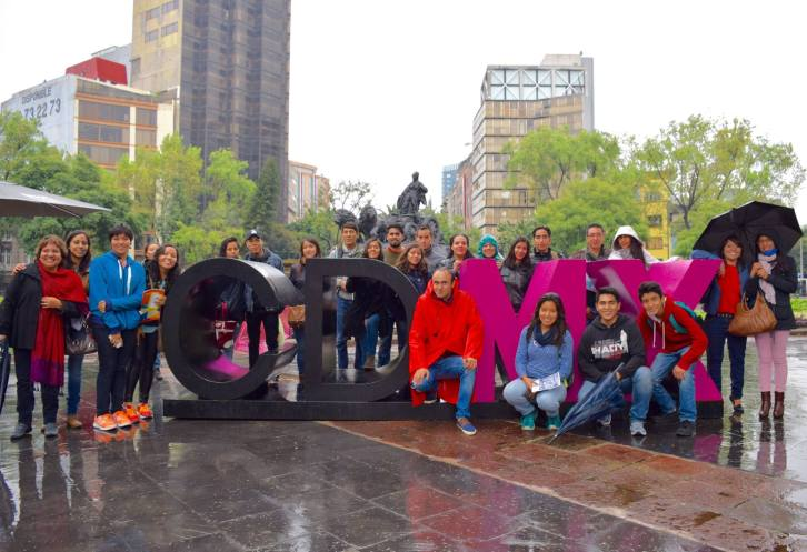 Foto Grupal Conozcamos la Condesa sep 2015