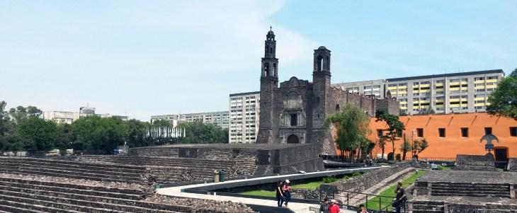 Vista de Tlatelolco