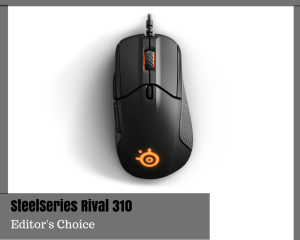 Best Budget Gaming Mouse - SteelSeries Rival 310 Gaming Mouse