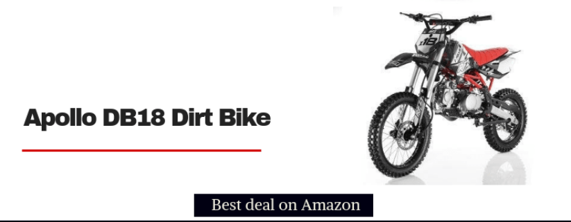 apollo db-x18 dirt bike for kids