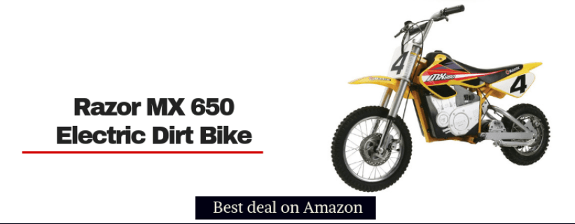 razor mx650 rocket best electric dirt bikes for kids