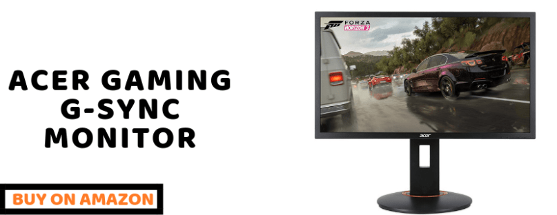 Acer gaming monitor 24 XFA240 best gaming monitor under 200