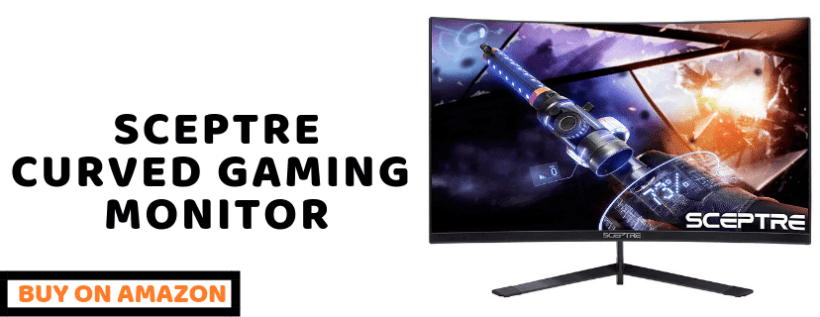 sceptre curved freesync gaming monitor