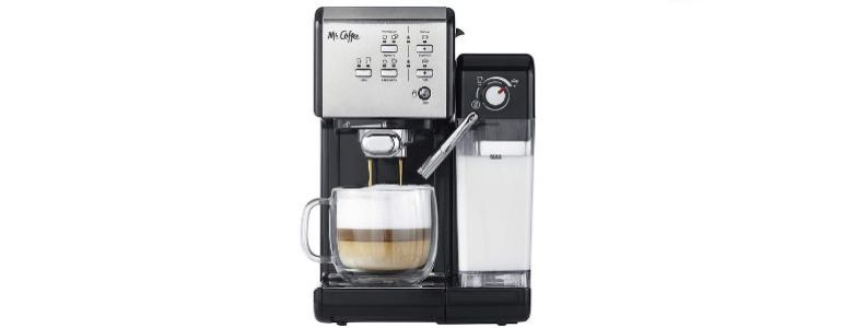 Mr. Coffee One-Touch Espresso and Cappuccino Machine